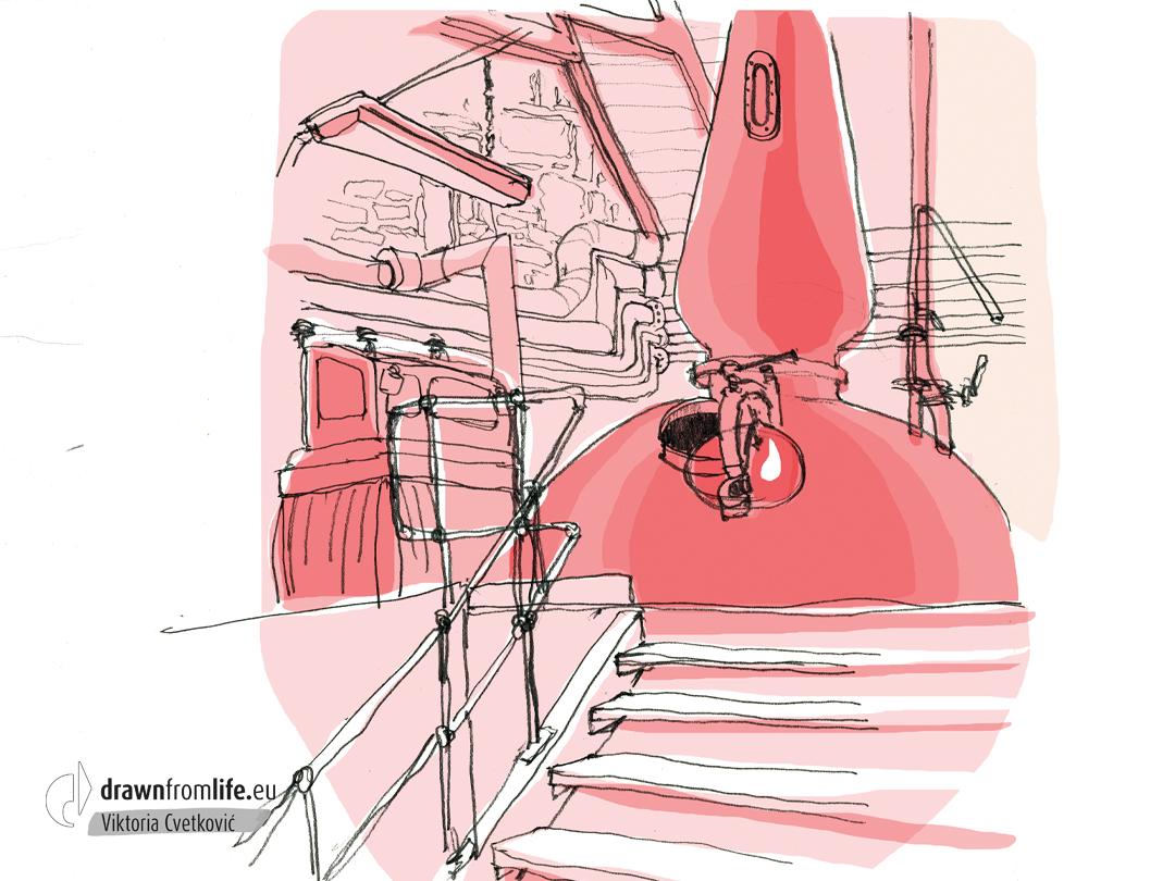Ballindalloch © Viktoria Cvetković | drawnfromlife.eu