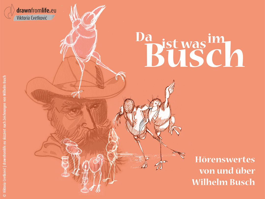 Wilhelm Busch © Viktoria Cvetković   drawnfromlife.eu