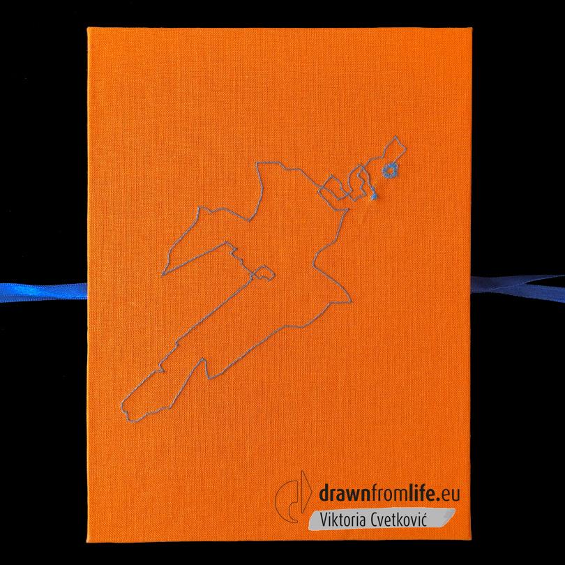 Venloop-Book-closed © Viktoria Cvetković | drawnfromlife.eu