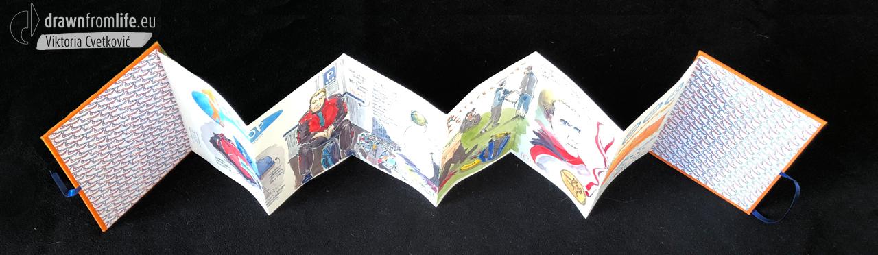 Venloop-Book-open © Viktoria Cvetković | drawnfromlife.eu
